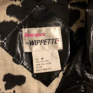 Vintage Jackets & Coats - Vintage black nylon Jacket